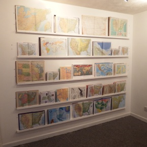 The Janners' Map installed at CMR, 2014